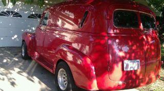 1954 Chevy Panel Van - Ps,  Pb,  Ac,  Auto photo