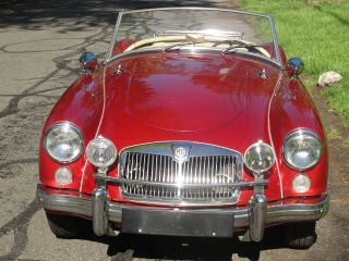 1960 Mga +rebuilt Engine Trans California Car 100 % Rust photo