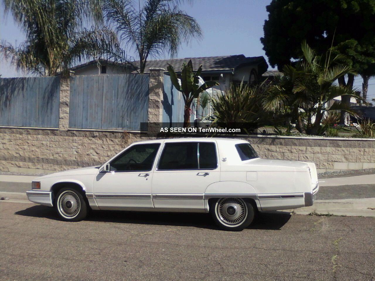 Cadillac Fleetwood Special Sedan Door L Lgw on 1992 Cadillac Fleetwood Sixty Special