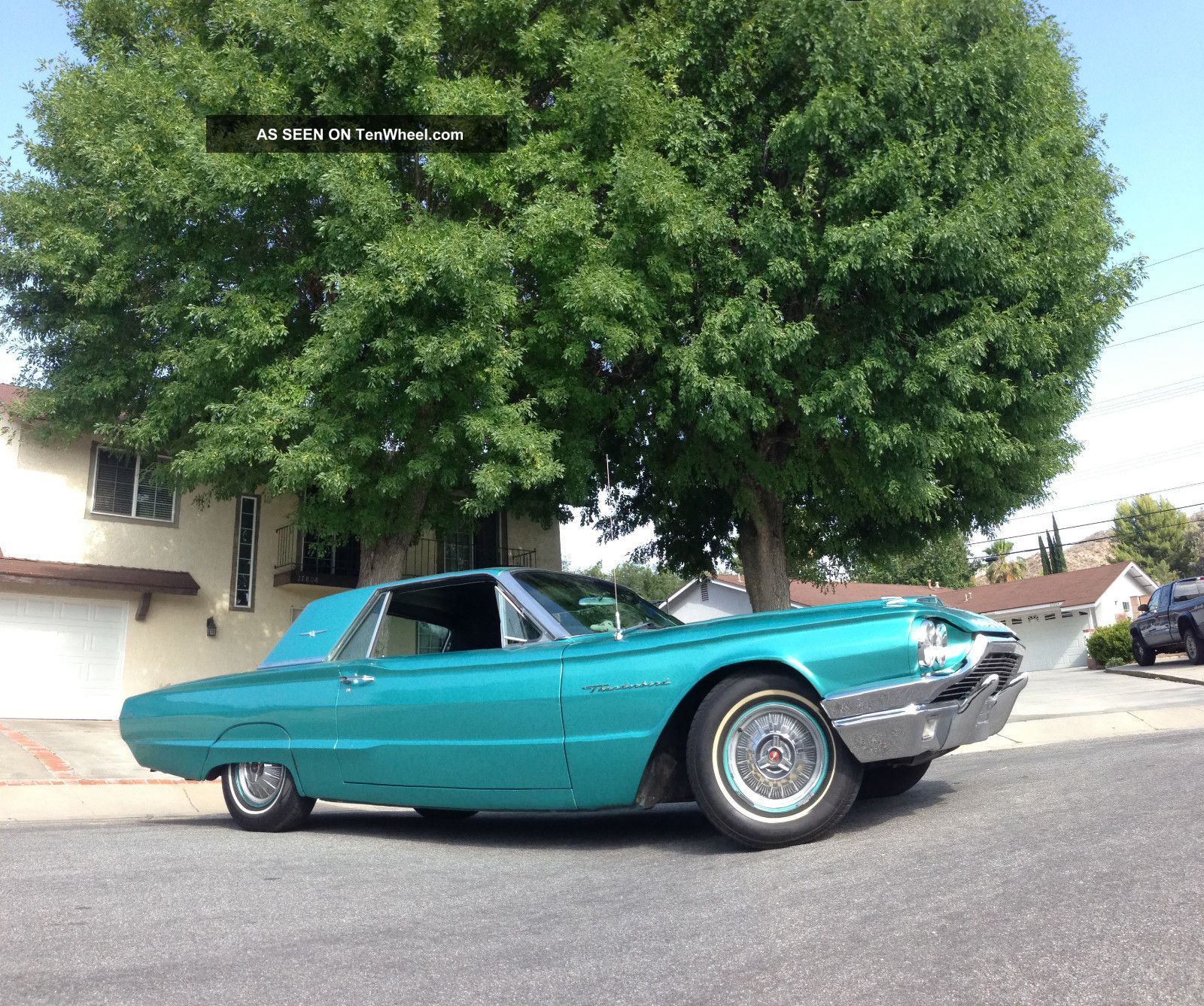 1964 Ford Thunderbird Green Motor 2nd Owner Car Thunderbird photo