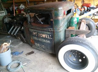 1934 Ford Pickup Hot Rod Rat Rod photo