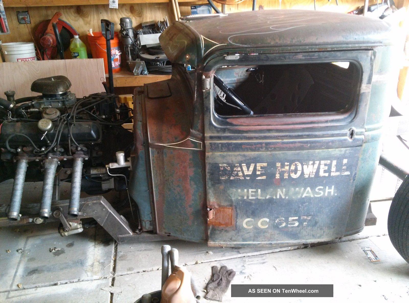 1934 Ford Pickup Hot Rod Rat