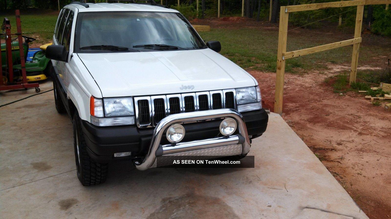 1997 Jeep Grand Cherokee Laredo Sport Utility 4 - Door 4.  0l Grand Cherokee photo