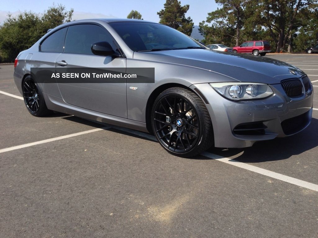 2011 Bmw 335is Coupe - Space Gray 6mt