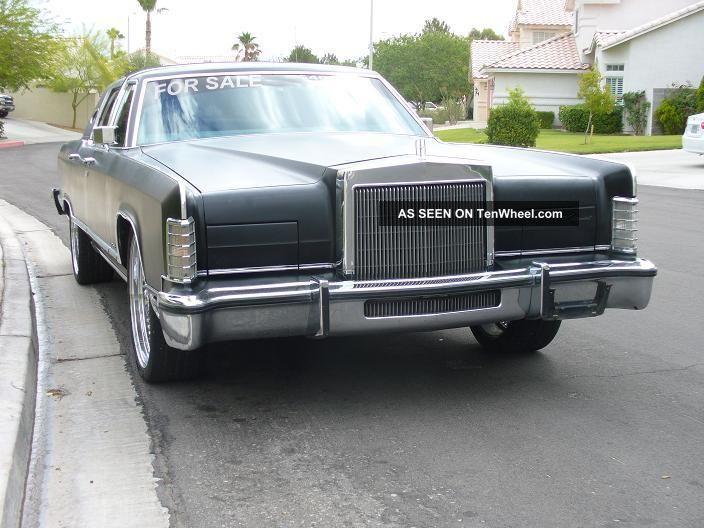 1979 Lincoln Town Car Custom Town Car photo