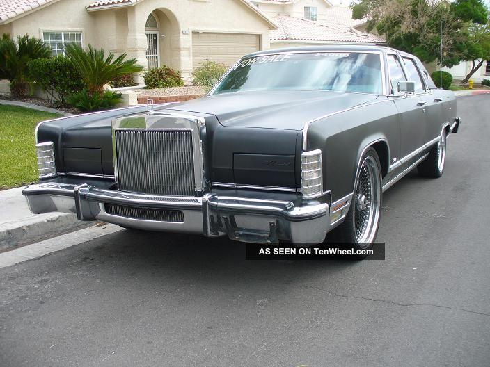 1979 Lincoln Town Car Custom