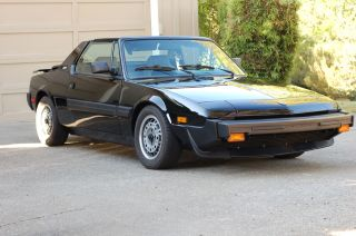 1987 Bertone X - 1 / 9 Base Coupe 2 - Door 1.  5l photo