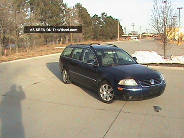 2005 Volkswagen Passat Gls Wagon 4 - Door 2.  0l Passat photo