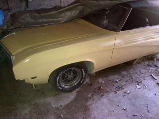 1969 Buick Skylark Custom Convertible 2 - Door 5.  7l photo
