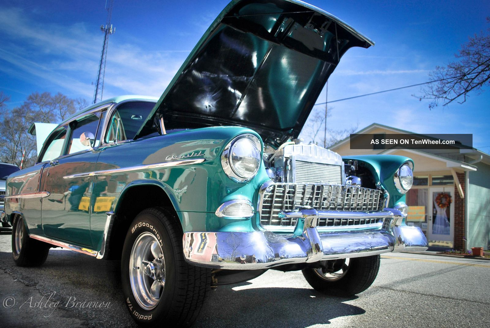 1955 Chevy Bel Air Off Frame With 434 Scott Shafiroff.  Pics Bel Air/150/210 photo