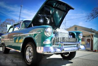 1955 Chevy Bel Air Off Frame With 434 Scott Shafiroff.  Pics photo