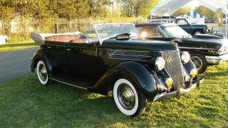 1936 Ford Phaeton Convertible Frame Up Restoration Juice Brakes Gorgeous Driver photo