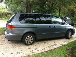 2002 Honda Odyssey Ex - L Mini Passenger Van 5 - Door 3.  5l photo