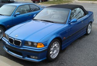 1999 Bmw M3 Convertible E36 Manual Transmission,  Bone Stock,  Fully Loaded photo