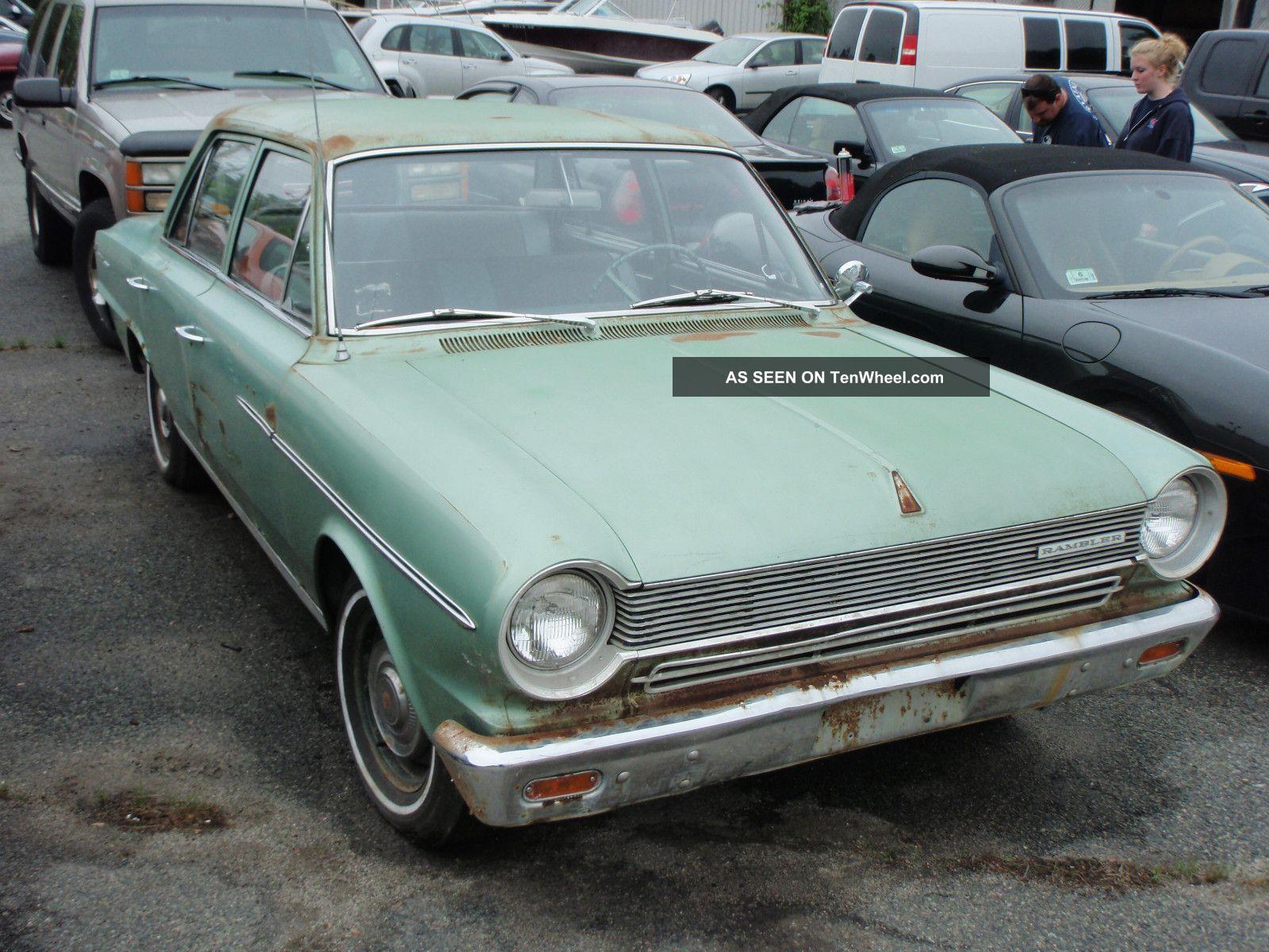 1964 Amc Rambler Sedan Solid Body Barn Find Solid Restorable Car AMC photo