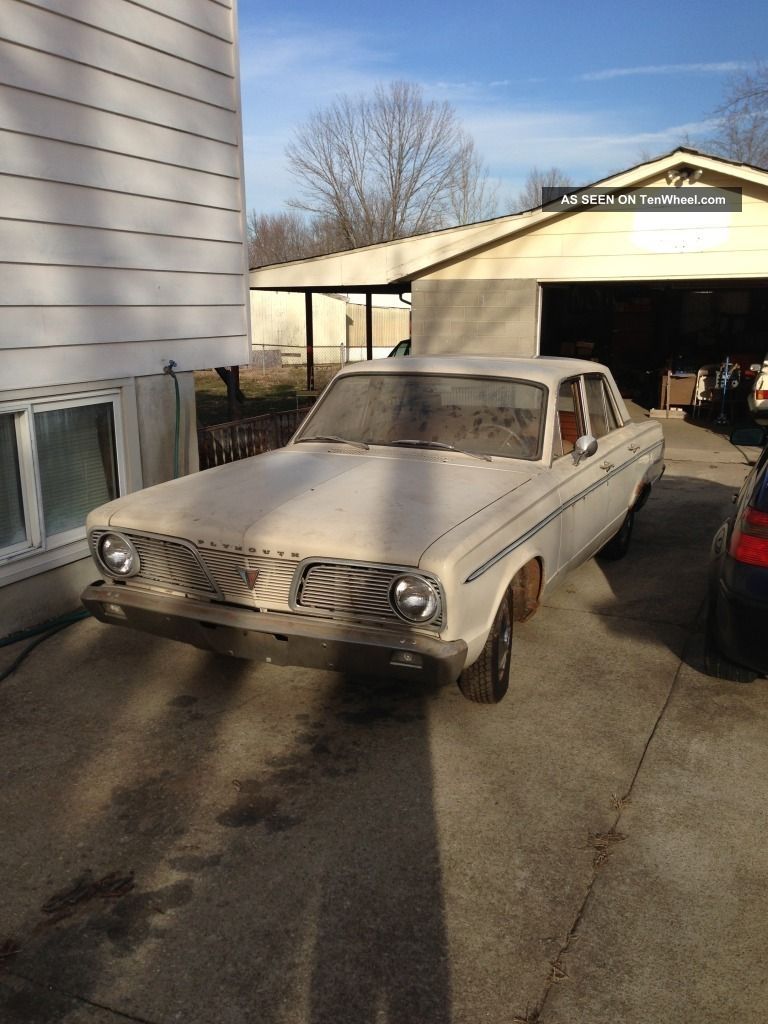 1966 Plymouth Valiant 200 3.  7l Other photo
