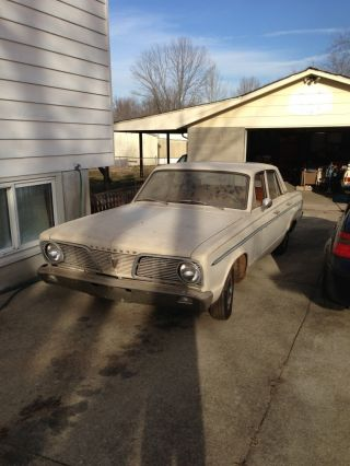 1966 Plymouth Valiant 200 3.  7l photo