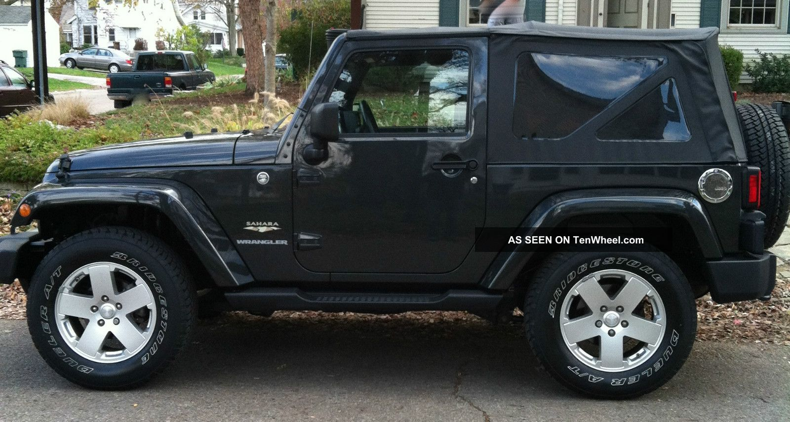 2010 Jeep Wrangler Sahara Hard Amp Soft Top Hitch Bike Rack