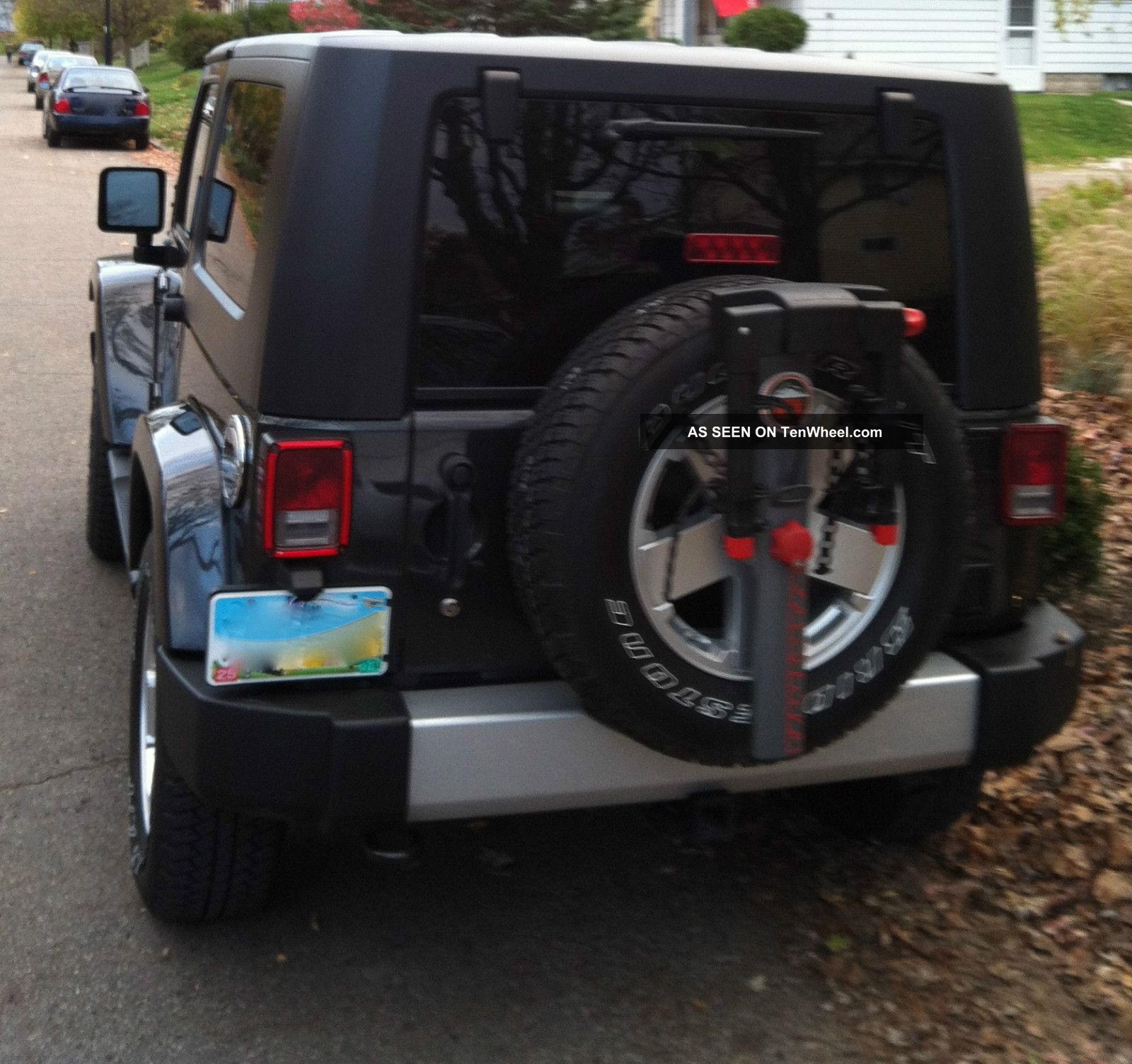 Bike Rack For Jeep Wrangler Jeep Wrangler Sahara
