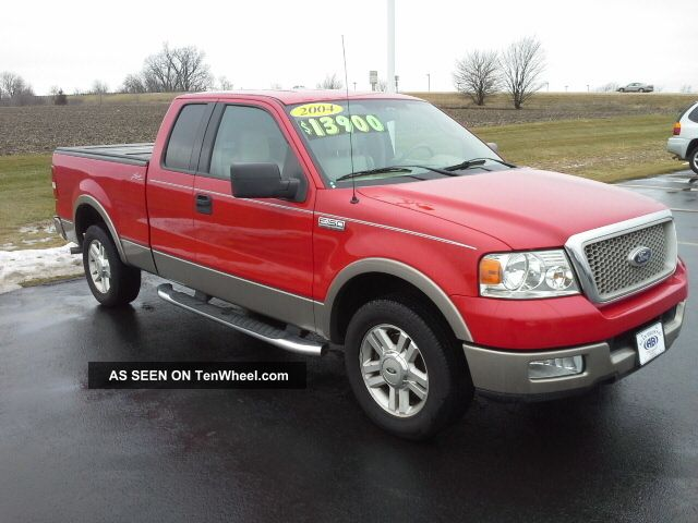 2004 ford f 150 lariat extended cab pickup 4 door 5 4l. Black Bedroom Furniture Sets. Home Design Ideas