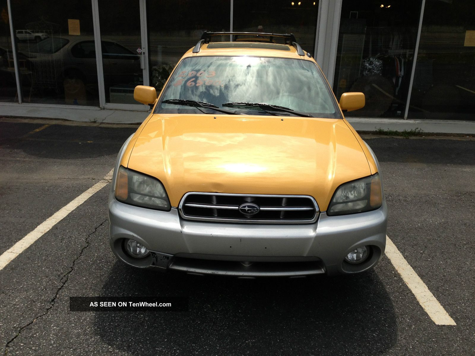 2003 Subaru Baja Base Crew Cab Pickup 4 - Door 2.  5l Baja photo