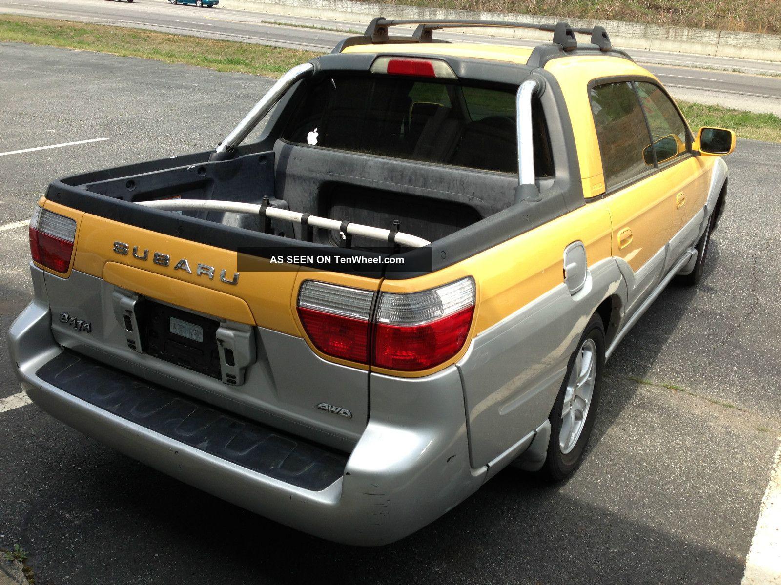 2003 subaru baja base crew cab pickup 4 door 2 5l. Black Bedroom Furniture Sets. Home Design Ideas