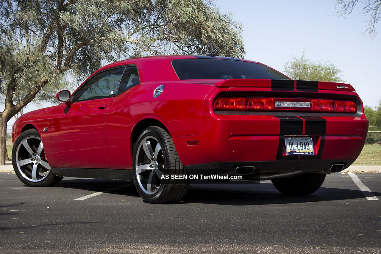 2012 Dodge Challenger Srt8 Coupe 2 Door 6 4l