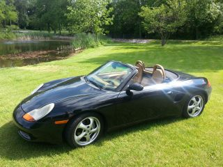 2000 Porsche Boxster Roadster Convertible 2 - Door 2.  7l photo