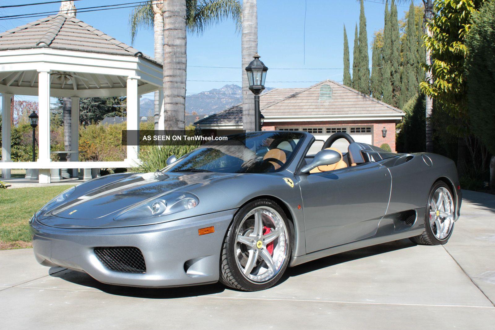2004 Ferrari 360 F1 Spider Convertible; All Options,  All Services Done 360 photo