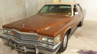 1978 Cadillac Deville Base Sedan 4 - Door 7.  0l photo