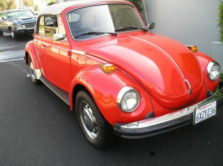 1979 Vw Beetle Convertible Survivor All California Car No Rust photo
