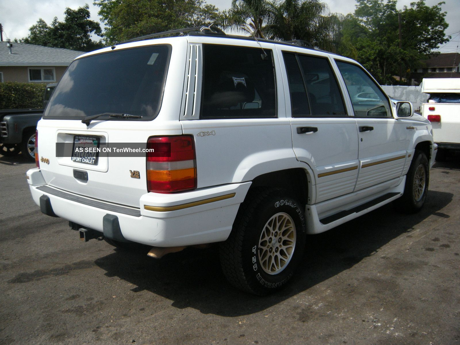1995 jeep grand cherokee grand cherokee photo 1. Cars Review. Best American Auto & Cars Review