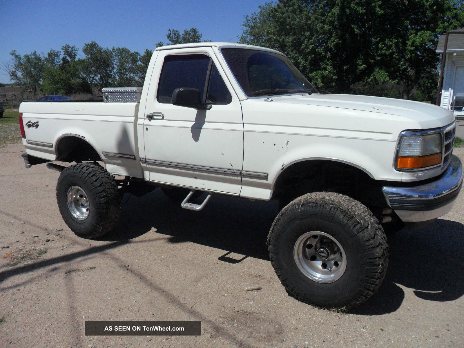 pics photos 1992 ford f150 4x4 truck 1 ford flareside for sale images