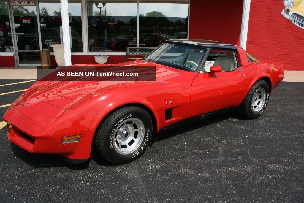 1980 Chevrolet Corvette L82 Red / White Interior Corvette photo