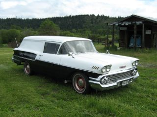 1958 Chevy Sedan Delivery photo
