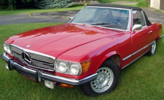 1972 350sl V8 Convertible / Hardtop - photo