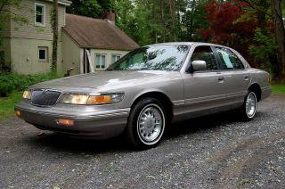 Really 1995 Mercury Grand Marquis Ls Sedan, ,  4.  6 V8 photo
