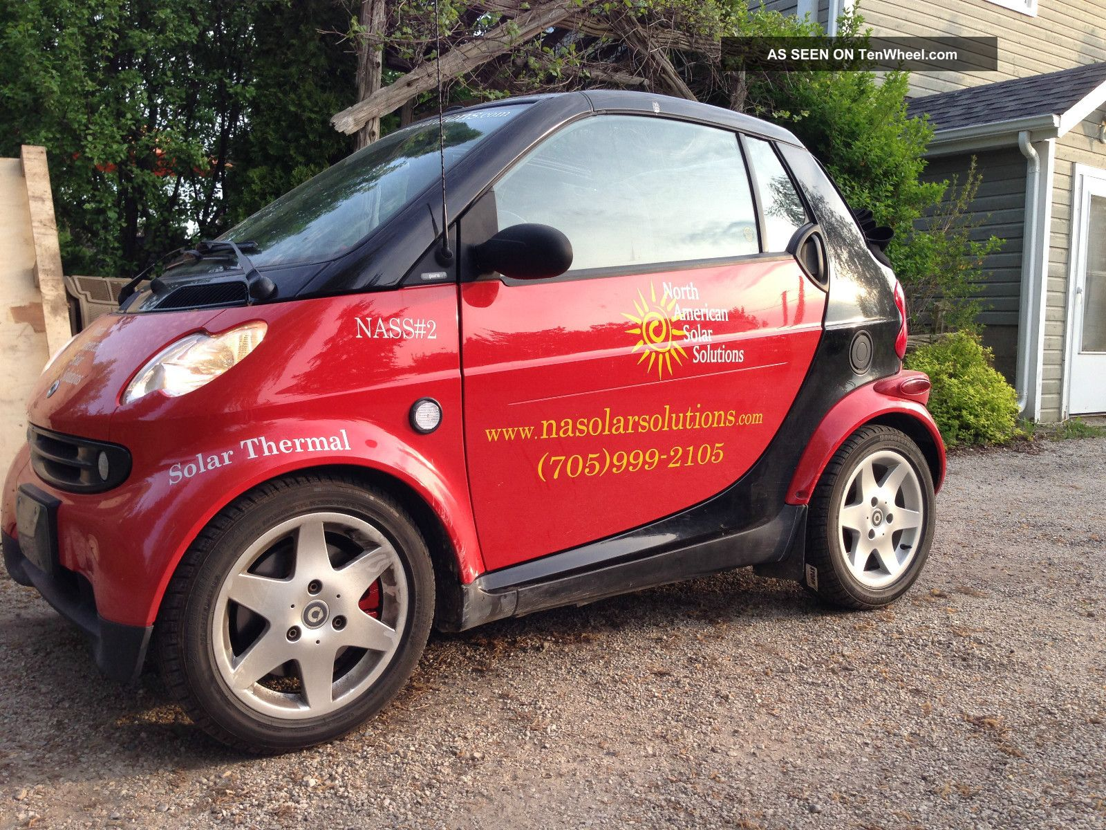 2005 smart fortwo 450 brabus suspension tuned diesel 70 mpg. Black Bedroom Furniture Sets. Home Design Ideas