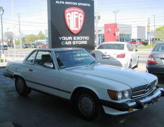 1987 Mercedes Benz 560sl photo