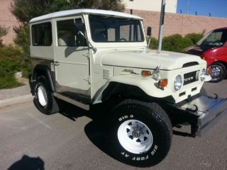 1973 Land Cruiser Fj40 4wd 6 Cylinder 3 Speed Manual Transmission photo