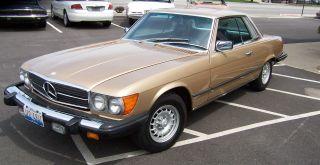 1980 Mercedes Benz Slc 450 1981 1982 1983 80 81 82 photo