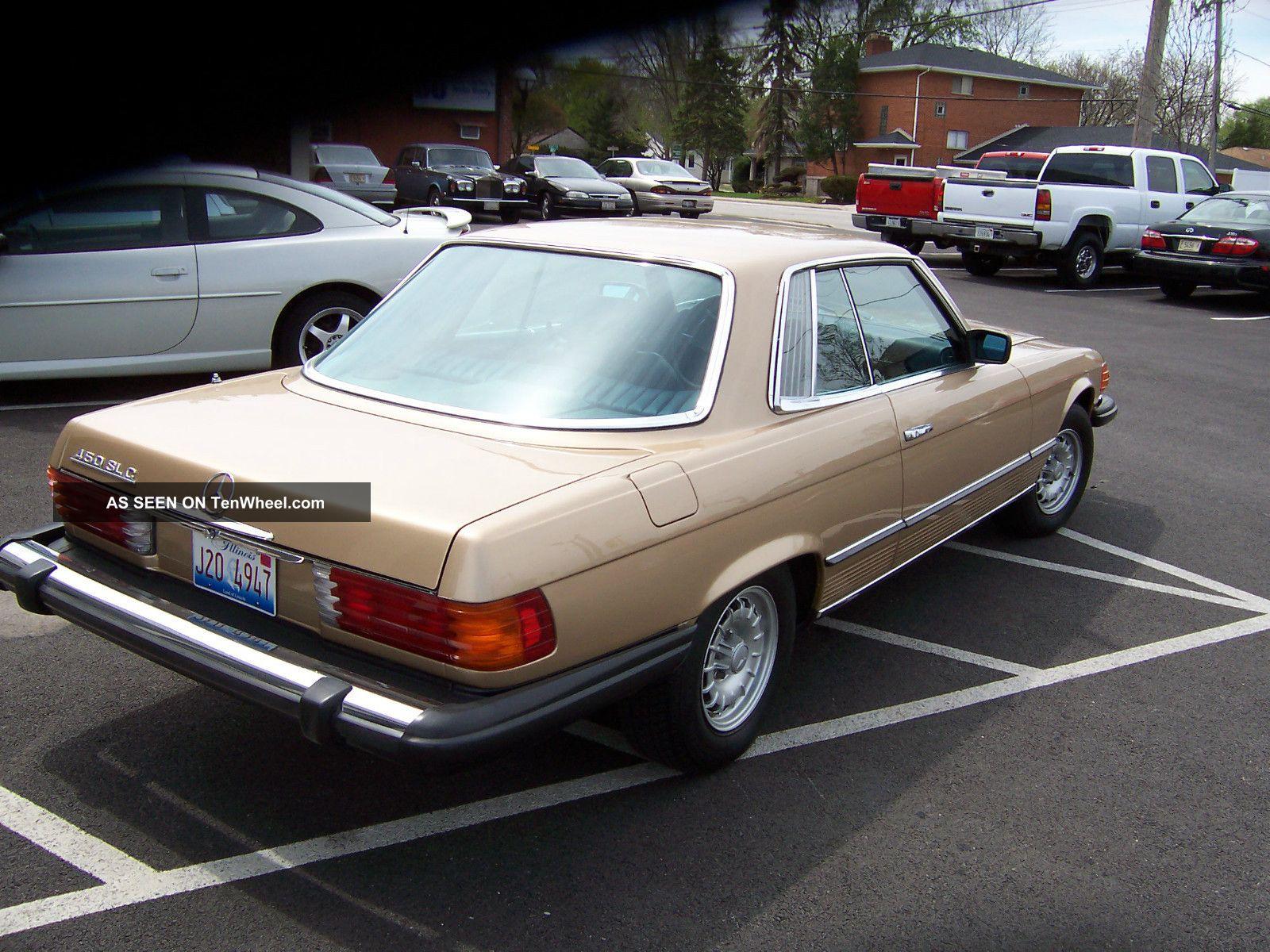 1980 mercedes benz slc 450 1981 1982 1983 80 81 82 for Mercedes benz 1980