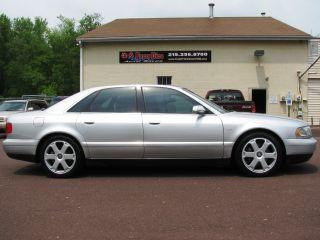 On A 2001 Audi S8 - photo