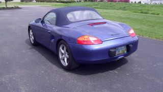 1999 Porsche Boxster Base Convertible 2 - Door 2.  5l photo