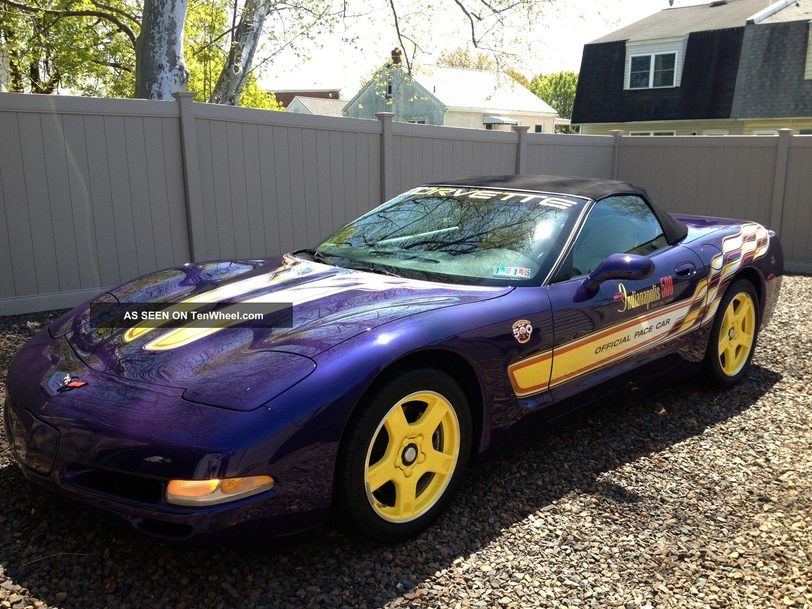 1998 Corvette Indy 500 Pace Car Corvette photo