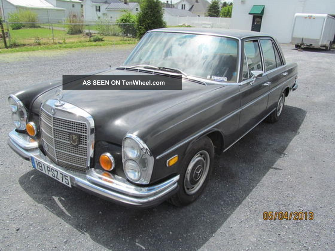 1972 mercedes benz 280se 4 5 for 1972 mercedes benz