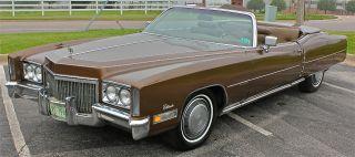 1972 Cadillac Eldorado Convertible photo