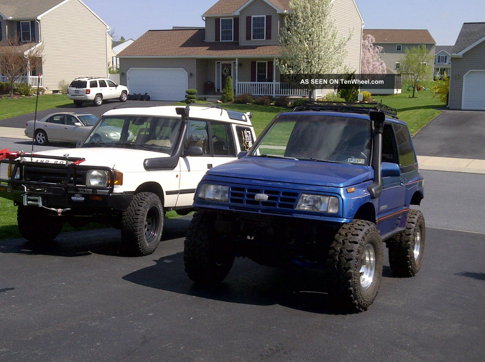 1991 Geo Tracker Lsi 4x4 - Rock Crawler - Snorkel Calmini Lift - 32