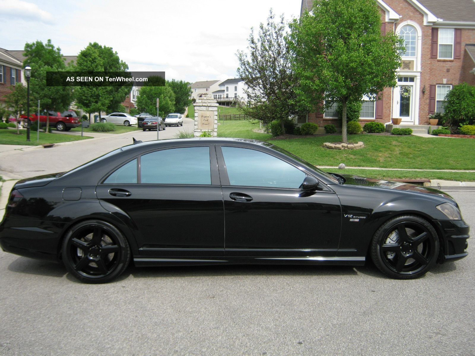 2008 mercedes benz s65 amg base sedan 4 door 6 0l. Black Bedroom Furniture Sets. Home Design Ideas