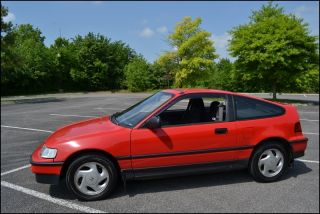 Rare 1991 Honda Crx Si Rust Unmolested photo